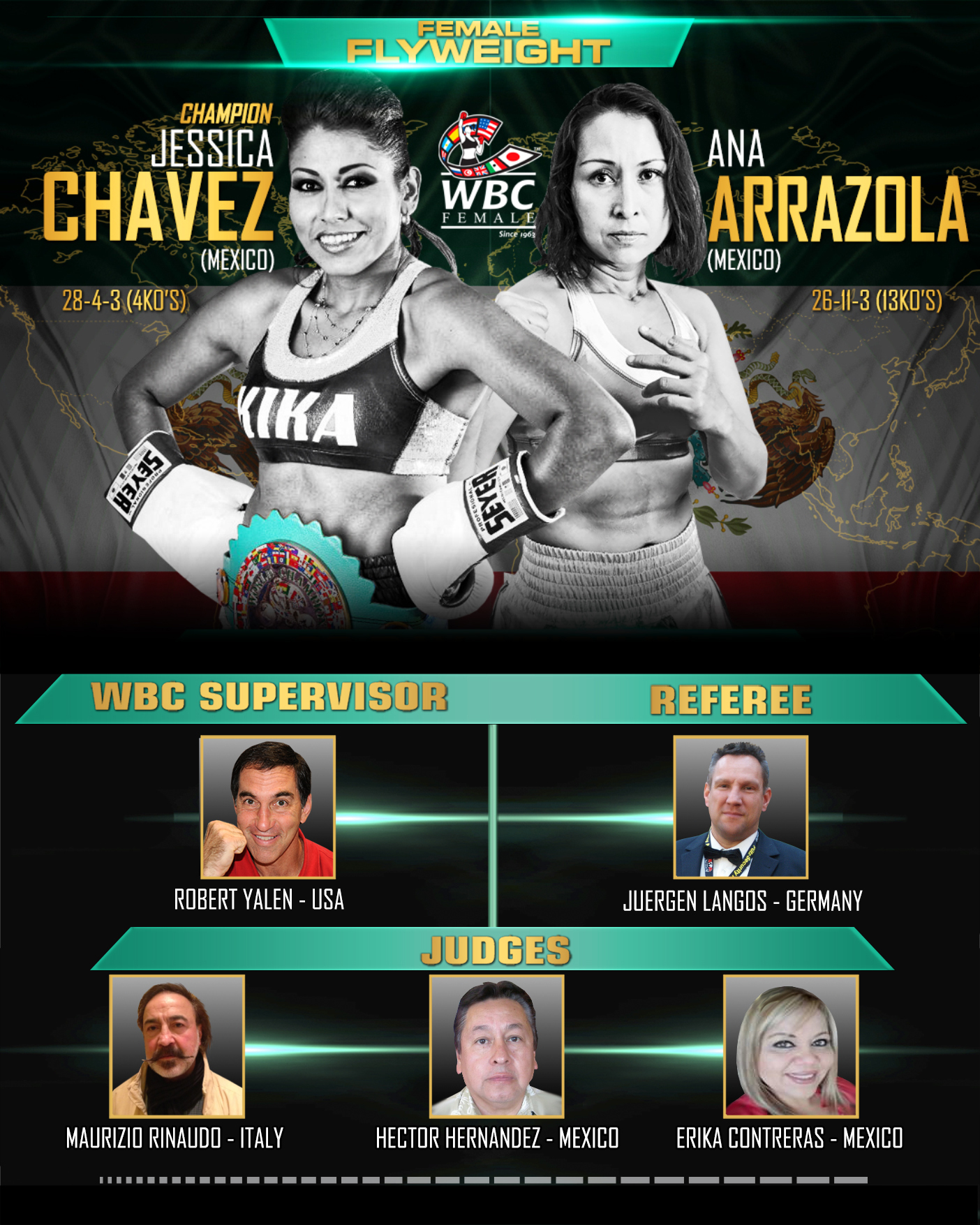 kika-chavez-vs-ana-arrazola-RING-OFFICIALS